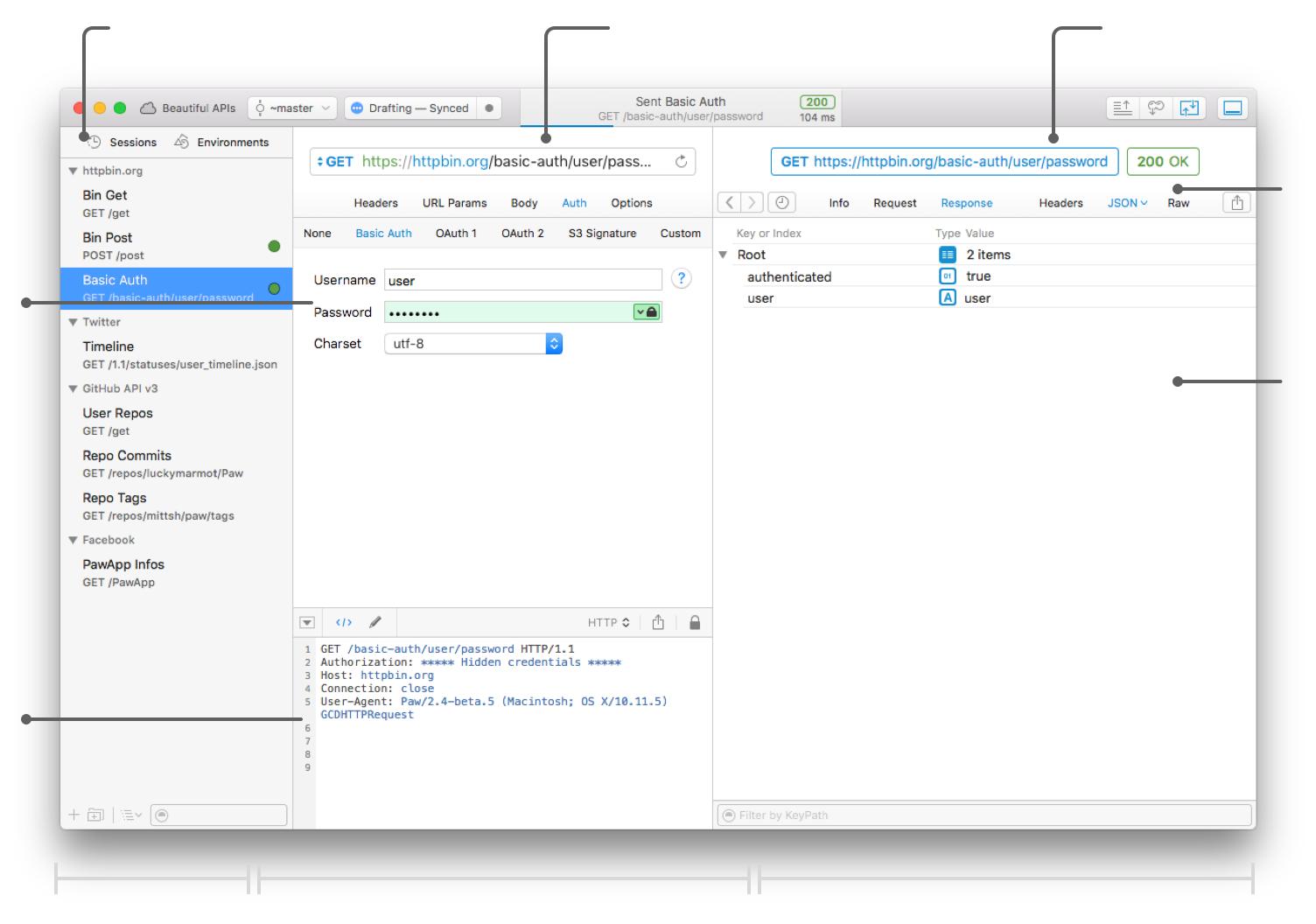 Paw for Mac 3.1.5 破解版- Mac上实用HTTP请求测试工具